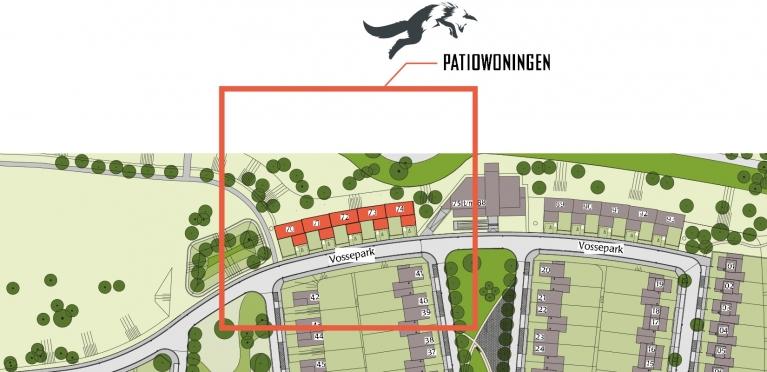 Situatie Vossepark Heerlen